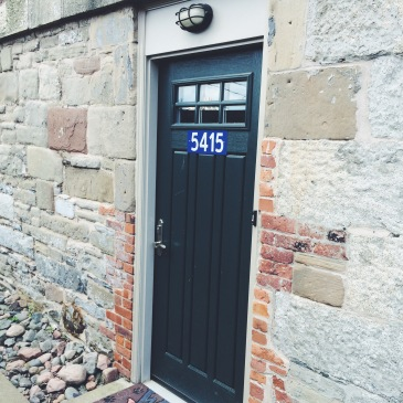 Door with the number 5415