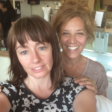 Lucy DeCoutere and me