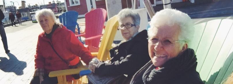 Oma, Ester, and Vava